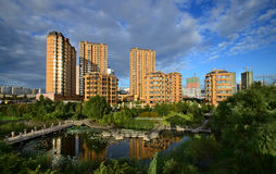 Qunli Yuyang公园 免版税库存照片
