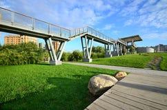 Qunli Yuyang Park Royaltyfria Bilder