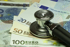 Quo vadis, Euro?. Checking the health of the Euro currency Stock Photos