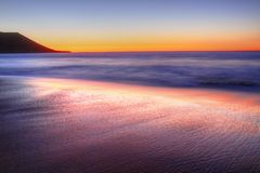 Quobba station. red bluff at sunset. western australia Stock Photo