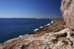 Quobba wybrzeże zdjęcie stock