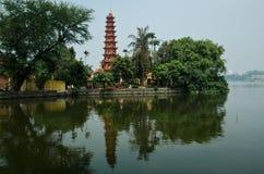 quoc pagodowy tran Zdjęcie Stock