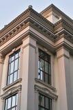 Quoin nowy budynek fotografia stock