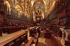 Quoir Stalls Lincoln Cathedral Royalty Free Stock Image