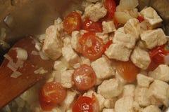 Quorn και ντομάτες Στοκ φωτογραφίες με δικαίωμα ελεύθερης χρήσης