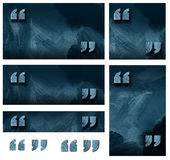 Quotation marks graphic background Stock Photos