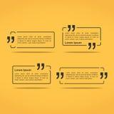 Quote Frames Stock Photos