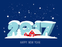 Quote Happy New Year Royalty Free Stock Photo