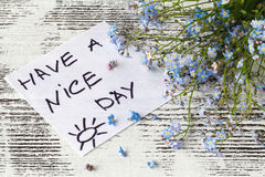 Quote `Have a nice day` stock photos
