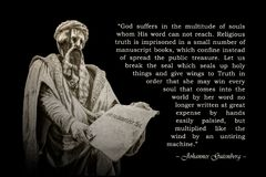 Quote of Johannes Gutenberg