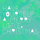 Quote Little Christmas Stock Photo