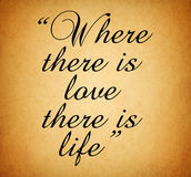 Quote of love from Aristotle Stock Photos