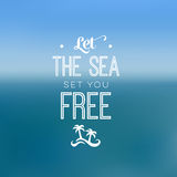 Quote - Sea Stock Images