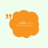 Quote sign icon Royalty Free Stock Images
