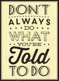 Quote Typographic Background Stock Photos