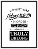 Quote Typographical Background Royalty Free Stock Image