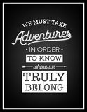 Quote Typographical Background Royalty Free Stock Images