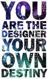 Quote Typographical Background, vector design Royalty Free Stock Photo