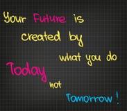 QuotesΠdi successo Fotografia Stock