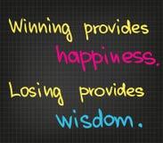 QuotesΠdo sucesso Fotografia de Stock Royalty Free