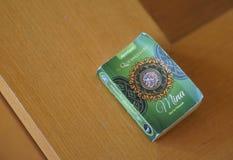 Qur'an em minha tabela de madeira Imagens de Stock