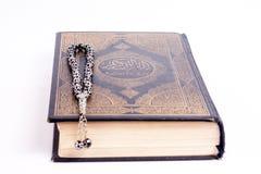 Quran με το tasbeeh Στοκ εικόνες με δικαίωμα ελεύθερης χρήσης