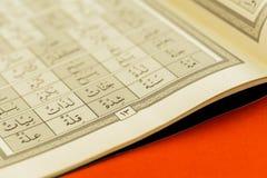 Quran royaltyfri fotografi