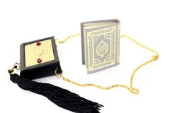 Quran with Case Stock Images