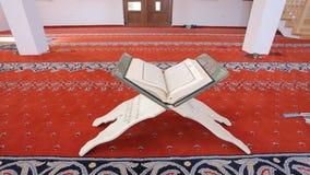 Quran - heilig boek, stock videobeelden