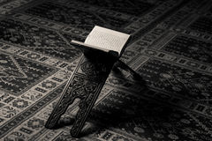 Quran Holy Book Of Muslims In Mosque Royalty Free Stock Images
