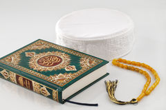 The Quran literally meaning the recitation, is the central religious text of Islam Stock Image