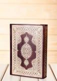 Quran. Book ramadan muslim islam relief decoration Stock Images