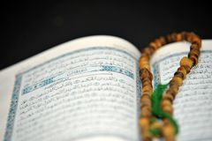 Quran & rosary Royalty Free Stock Photography