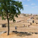 Qurbanci-Dorf stockbild