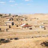 Qurbanci-Dorf lizenzfreie stockfotos