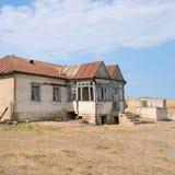 Qurbanci-Dorf Stockfoto