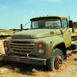 Qurbanci Village Truck Royalty Free Stock Photos