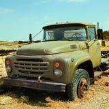 Qurbanci wioski ciężarówka Zdjęcia Royalty Free