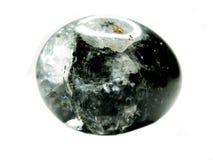 Qurtz natural da rocha com cristais do clorito Foto de Stock