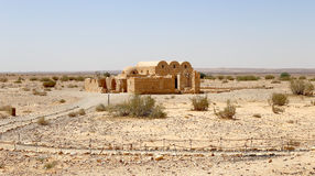Free Quseir (Qasr) Amra Desert Castle Near Amman, Jordan Royalty Free Stock Image - 43413906