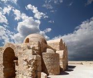 Quseir (Qasr) Amra desert castle near Amman, Jordan Royalty Free Stock Photography
