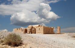 Quseir (Qasr) Amra desert castle near Amman, Jordan Stock Image