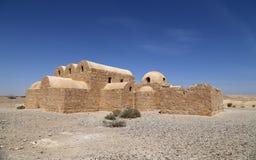Quseir (Qasr) Amra desert castle near Amman, Jordan Royalty Free Stock Image