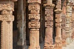 Qutab complexe Minar, Delhi, India royalty-vrije stock afbeeldingen
