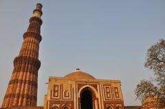 Qutab Minar in Delhi Royalty Free Stock Photos