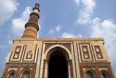 Qutab Minar, Delhi, India. The Qutab Minar Complex, Delhi, India Stock Images