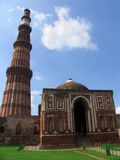 Qutab Minar, Deli, India Foto de Stock