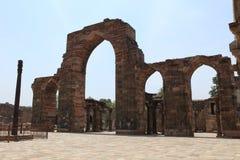 Qutab Minar en New Dehli la India foto de archivo libre de regalías