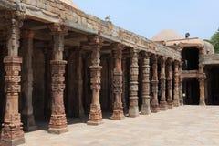 Qutab Minar en New Dehli la India imagen de archivo