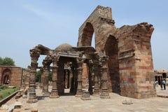 Qutab Minar i New Dehli Indien Royaltyfria Bilder